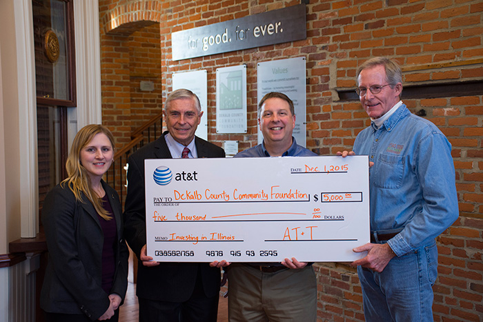 DeKalb County Community Foundation; Press Release; DCCF; AT&T