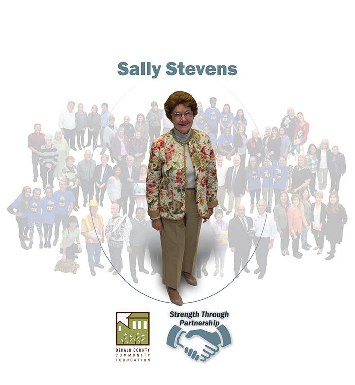 Sally Stevens, Strength Through Partnership, DeKalb County Community Foundation
