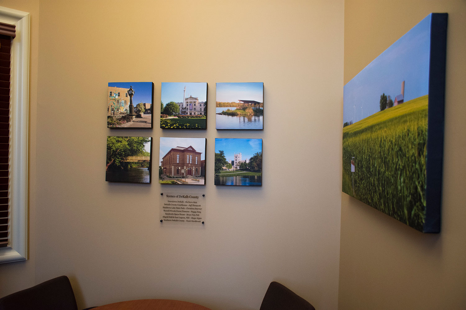 DeKalb County Community Foundation, DeKalb County, DCCF, photography, displays