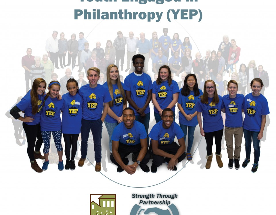 Youth Engaged in Philanthropy (YEP), Strength Through Partnership