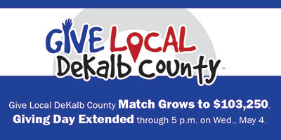 Give Local DeKalb County extended
