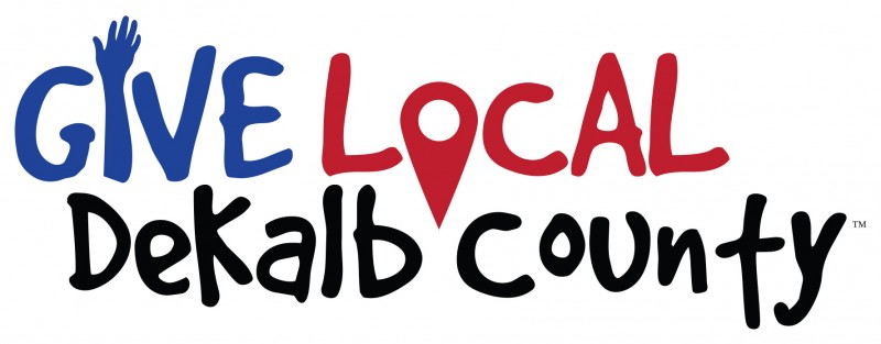 Give Local DeKalb County Logo