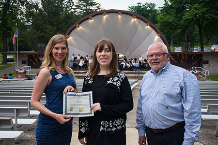 Palmer Family Music Education Scholarship Award Winner Zoe Markle