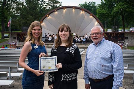 Palmer Family Music Education Scholarship Award Winner Zoe Markle
