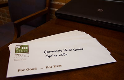 Spring 2016 Community Needs Grant Checks