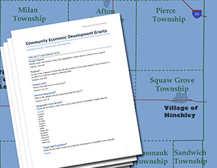 Community Economic Development Grant Application image