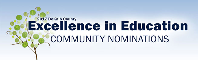 Excellence in Education Community Nominations 2017