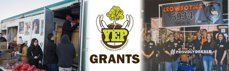 2016 YEP Grants website Header