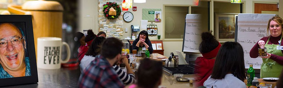 Four-part cooking class series made possible by the Victor F. Barresi Memorial Fund.