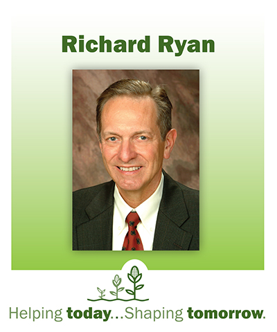 Local Philanthropist Richard Ryan, Helping today...Shaping tomorrow.