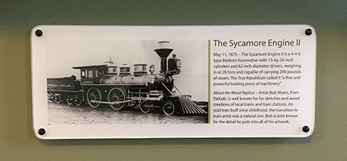 Sycamore Engine II display text