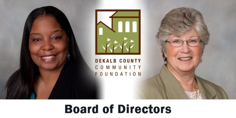 DeKalb County Community Foundation, Board Members, Latricia Dawkins and Marcia Goodrich