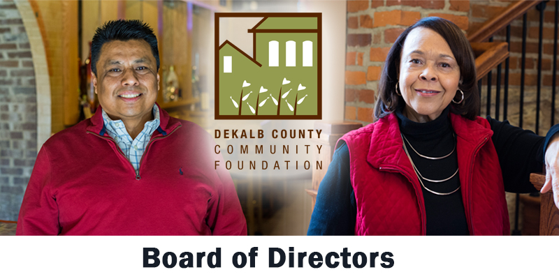 Board members, DeKalb County Community Foundation