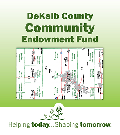 DeKalb County Community Foundation, Helping today...Shaping tomorrow, DeKalb County Community Endowment Fund