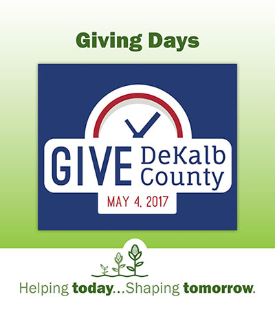 DeKalb County Community Foundation, Give DeKalb County