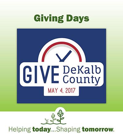 DeKalb County Community Foundation, Give DeKalb County