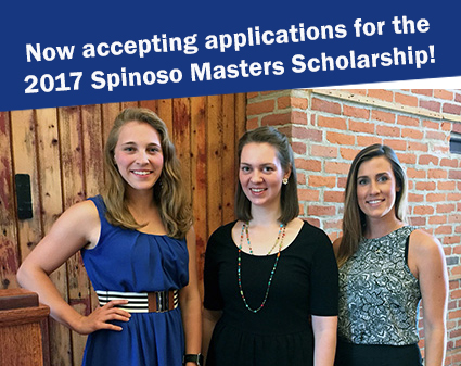 Spinoso Masters Scholarship. DeKalb County Community Foundation