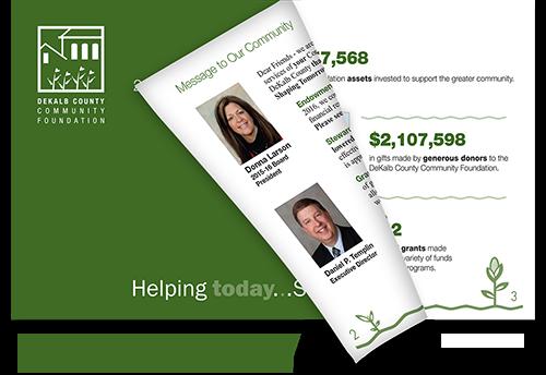 2016 Annual Report, DeKalb County Community Foundation