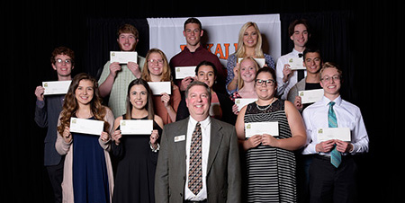 DeKalb COunty Community Foundation, DeKalb High School Scholarship Awards 2017