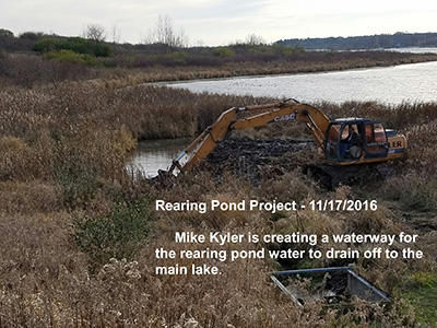 Shabbona Lake State Park Rearing Pond, DeKalb County Community Foundation