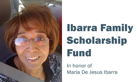 Ibarra Family Scholarship Fund, DeKalb County Community Foundation