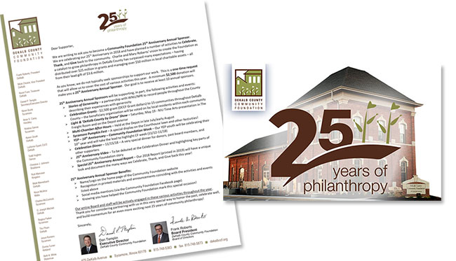 25th Anniversary, DeKalb County Community Foundation