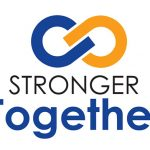 Stronger Together campaign logo, DeKalb County Nonprofit Partnership, DeKalb County Community Foundation