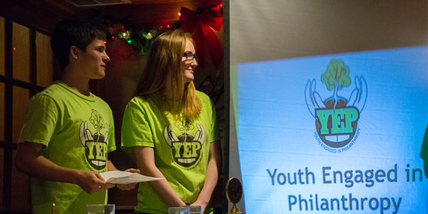 Youth Engaged in Philanthropy, YEP, DeKalb County Community Foundation, Sycamore, IL
