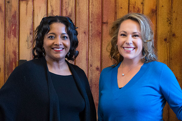 Teri Spartz, Tiffany McQueen Lewis, DeKalb County Community Foundation