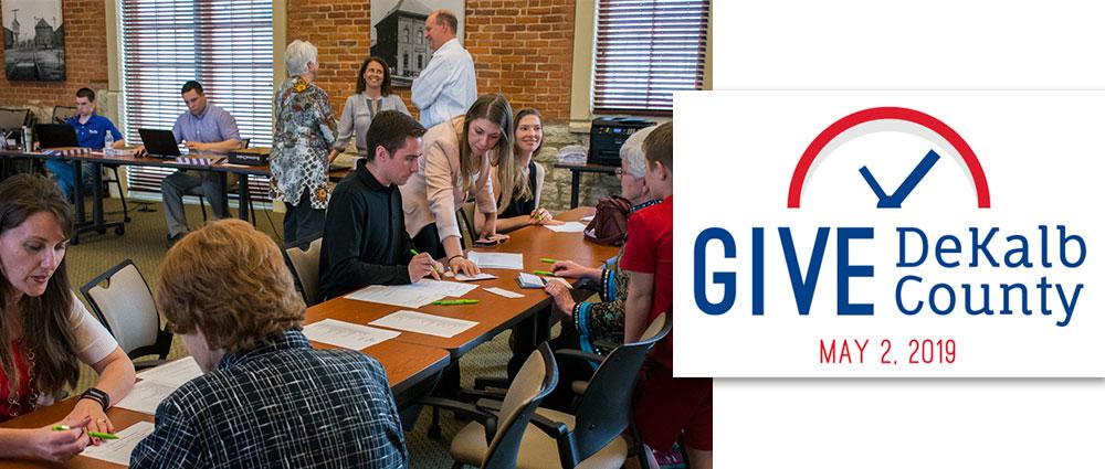 Give DeKalb County, DeKalb County Community Foundation, DeKalb County Nonprofit Partnership