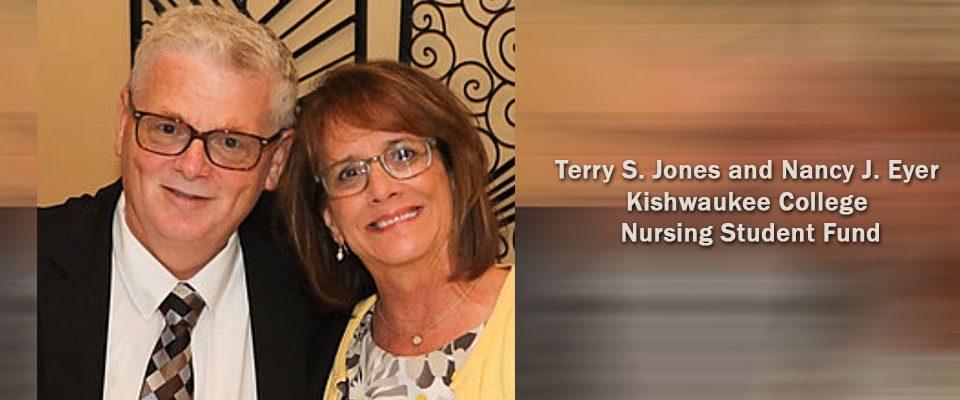 Terry S. Jones and Nancy J. Eyer Kishwaukee College Nursing Student Fund, DeKalb County Community Foundation, Designated Fund