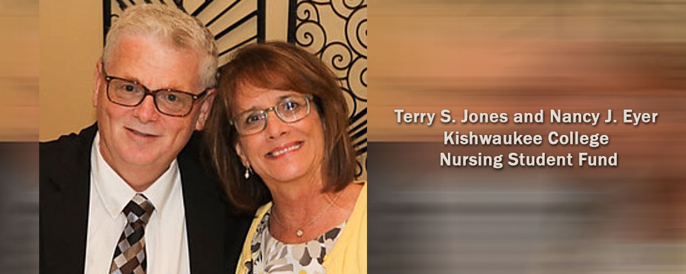 Terry S. Jones and Nancy J. Eyer Kishwaukee College Nursing Student Fund, DeKalb County Community Foundation, Designated Fund