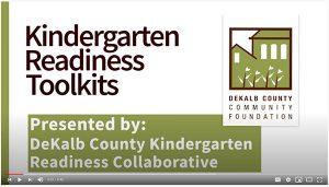 Kindergarten Readiness, DeKalb County Community Foundation